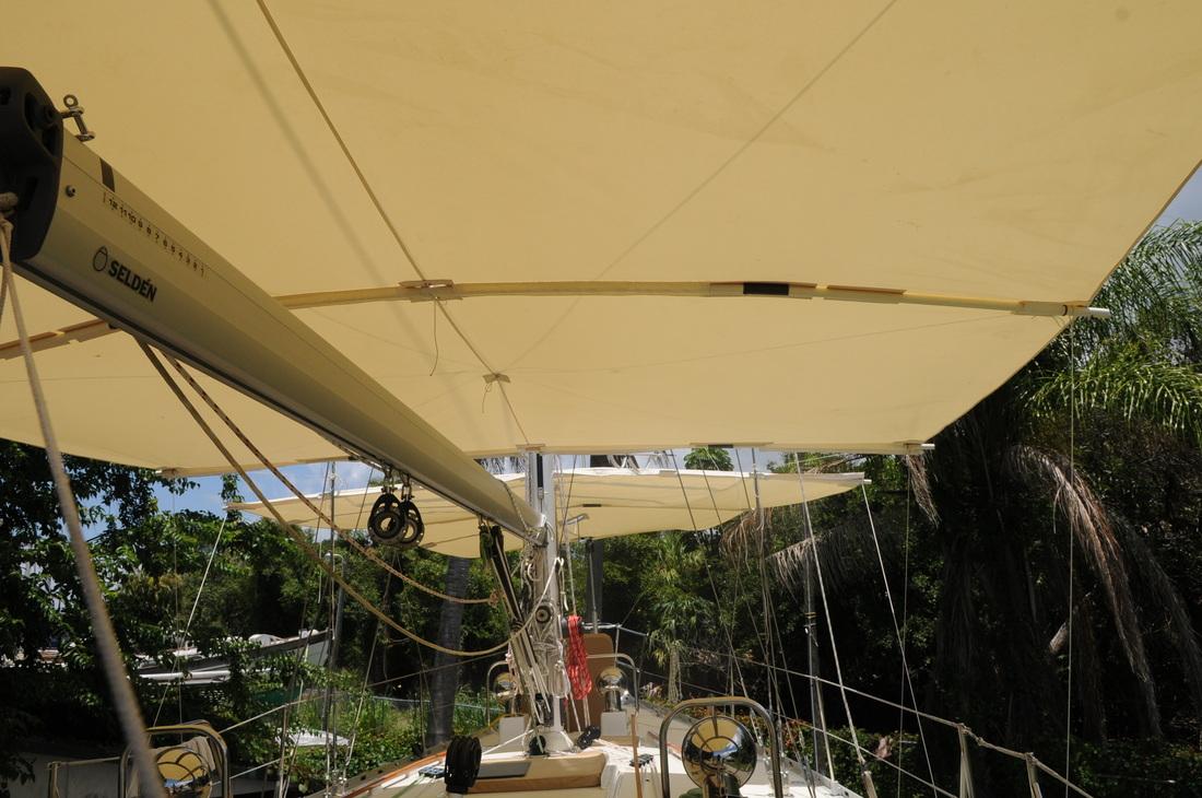 Shellback Sailboat Awnings Make Your Boat A Shade Better